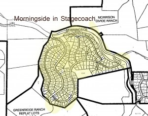 Morningside at Stagecoach Map