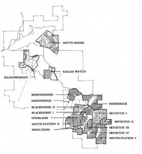 Stagecoach Colorado map
